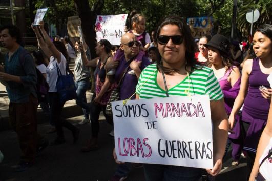 Uno de los múltiples mensajes #SomosManada.