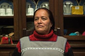 Doña Lupe, conocedora de las recetas tradicionales de la cocina p'urhépecha. Por Xilonen Pérez.