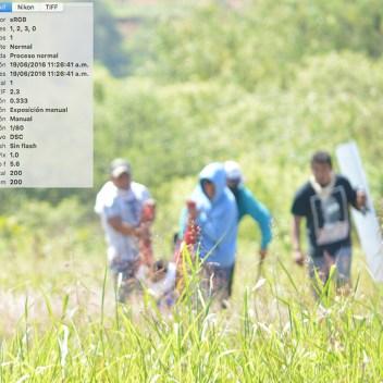 [Foto 12] 11:26:41 a.m. llegan más personas a auxiliar a los heridos, entre dos tratan de cargar a Yalid Jiménez