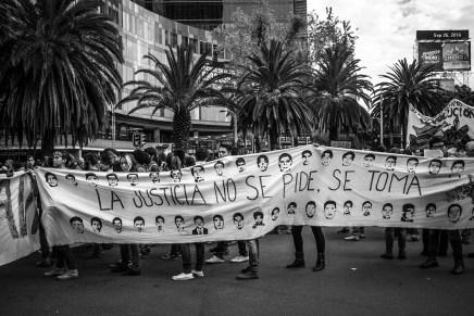 A dos años de Ayotzinapa, la justicia no vendrá de los culpables