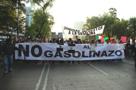 Contra el gasolinazo