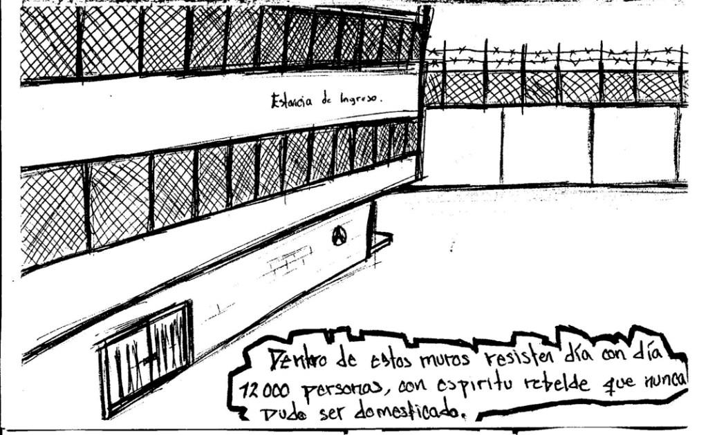 Ilustración del periódico El Canero en su primera edición.