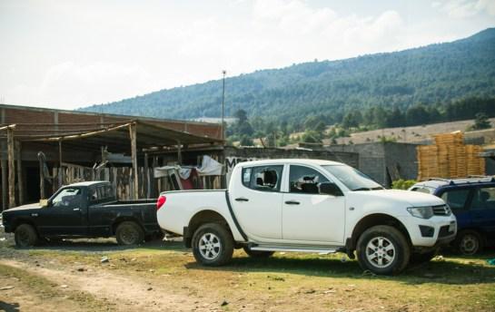 08/04/2017. Arantepacua. Michoacán. Los restos de la represión.Fotografía: Cristian Leyva