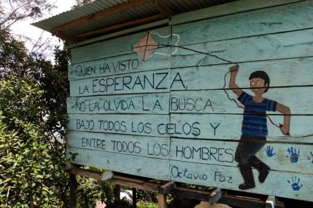 Mural en la comunidad