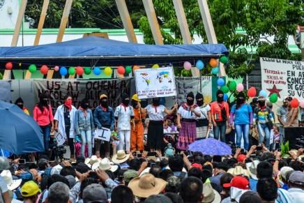 Bienvenidas las mujeres del mundo IV: la gira del Concejo Indígena de Gobierno en Chiapas