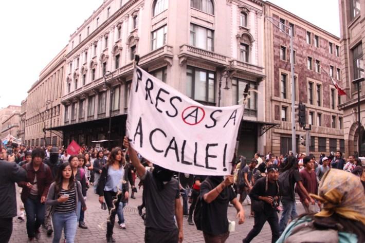 Marcha conmemorativa del 2 de octubre. 2017. Por Elis Monroy-17