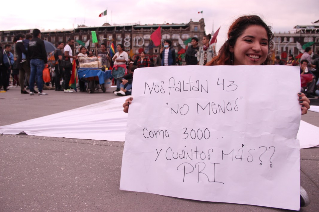 Marcha conmemorativa del 2 de octubre. 2017. Por Elis Monroy-22