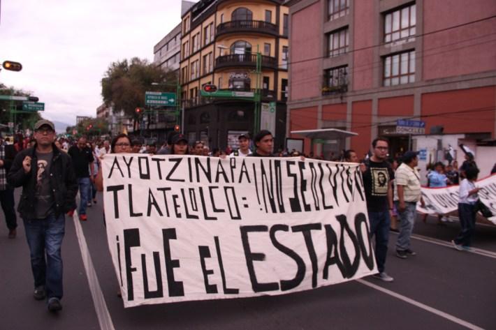 Marcha conmemorativa del 2 de octubre. 2017. Por Elis Monroy-8