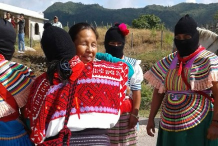 Bienvenidas las mujeres del mundo I: la gira del Concejo Indígena de Gobierno en Chiapas