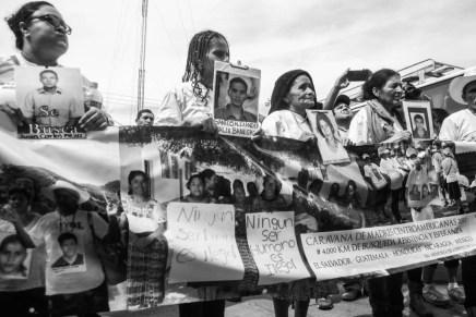 """""""Lo más importante es el derecho a la verdad"""". Llega a México la XIII Caravana de Madres Centroaméricanas en busca de sus hijxs migrantes desaparecidxs"""