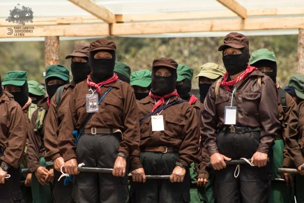Desmiente el Ejército Zapatista de Liberación Nacional contacto alguno con AMLO. Comunicado del CCRI-CG del EZLN
