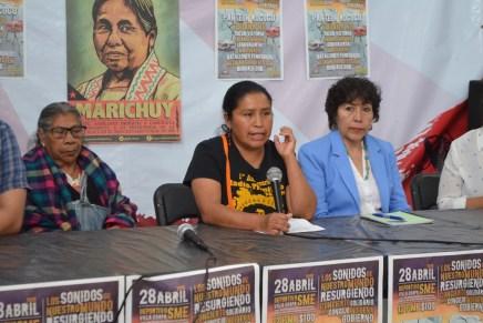 «Los sonidos de nuestro mundo resurgiendo».  Concierto solidario con el Concejo Indígena de Gobierno.