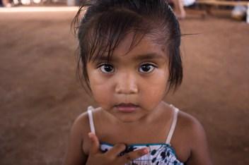 Rubí nació y vive en tierras recuperadas.