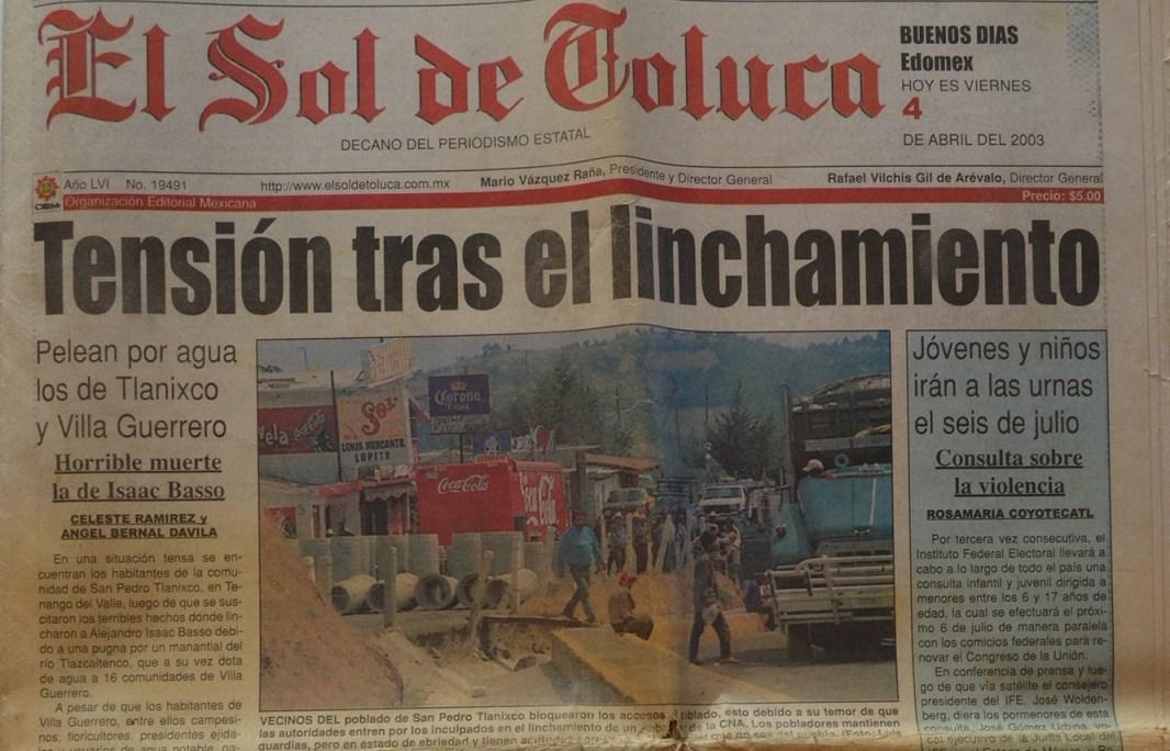 Periódico El Sol de México, propiedad de la familia Vázquez Raña.