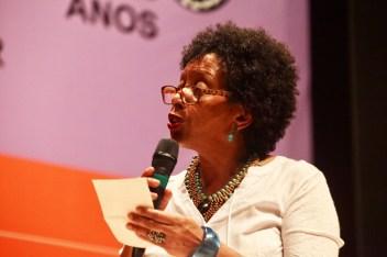 Wânia Sant'Anna, formo parte de la organización del primer Encuentro Nacional de las Mujeres Negras