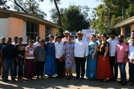 Fiesta de la solidaridad en Ixhuatán