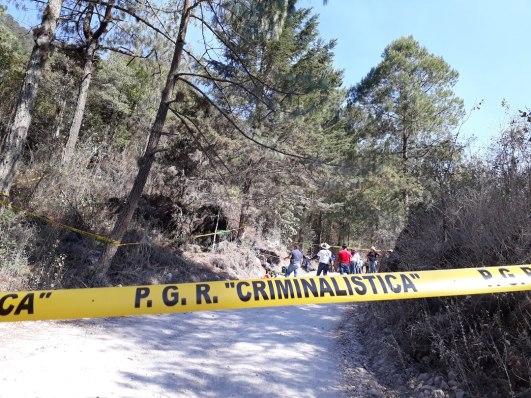 La brigada consistió en localizar fosas clandestinas en los municipios Chilpancingo y Eduardo Neri de Guerrero. Foto: Alina Navarrete Fernández.
