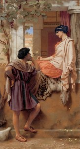 Godward_The_Old_Old_Story_1903