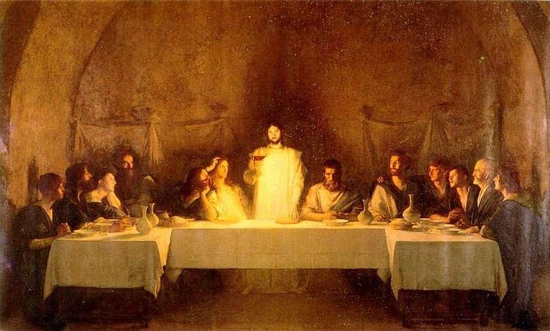 Last Supper by Pascal Dagnan-Bouveret
