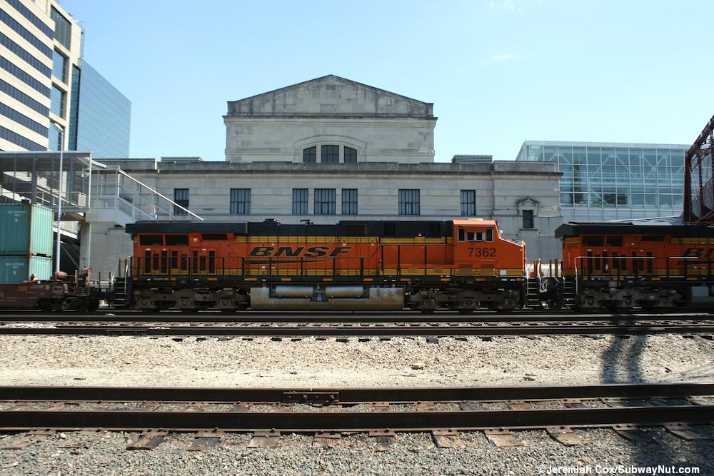 Kansas City Mo Union Station Amtrak S Missouri River