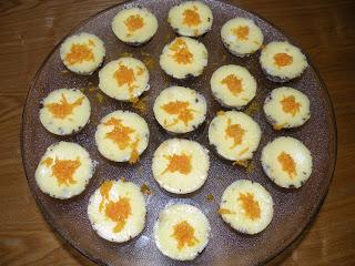 Orange & Chocolate Cheese Cake( Individual Serving)