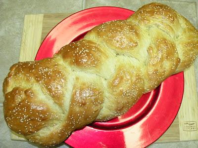 Challah ( Egg Bread )