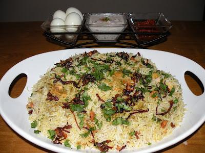 Chicken Biryani (My Style)
