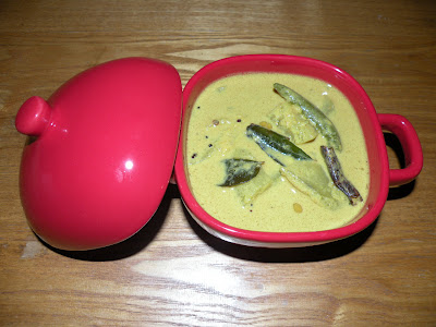 Manga Palu Curry ( Raw Mango Curry )