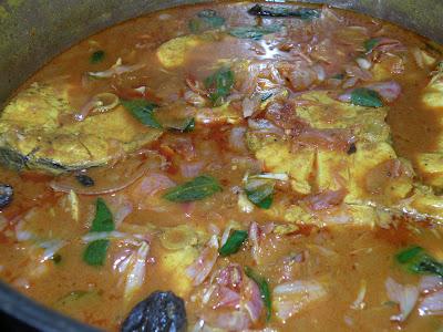 Easy Kerala Fish Curry