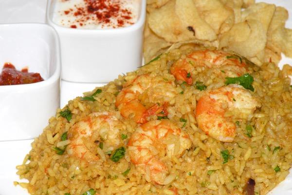 Shrimp Biryani ( Easiest Method )