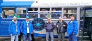 Some of the volunteers of the Sub Zero Mission