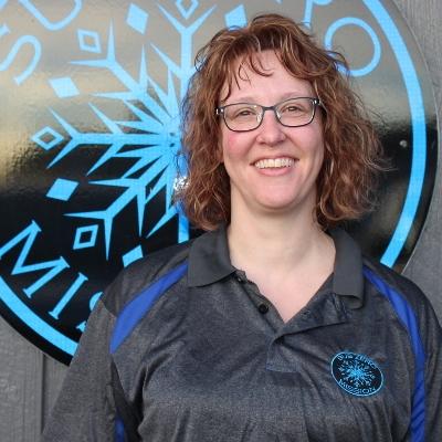 Kelli Mueller is Secretary for the Sub Zero Mission