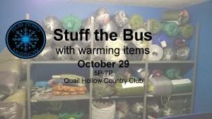Stuff the Bus at Quail Hollow