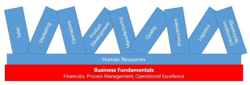 Setting the organizational foundation