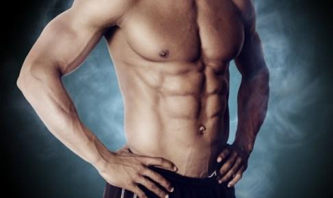 筋肉が凄い男の人の画像