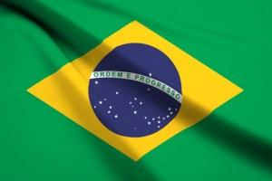 ブラジルの国旗画像