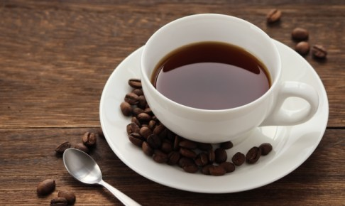 コーヒーとコーヒー前mの画像