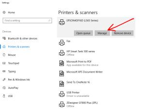 Printer Manage Epson L565
