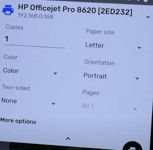 Cara Print PDF dari HP