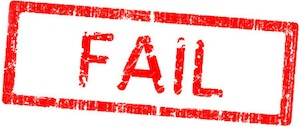 Image of a Fail stamp