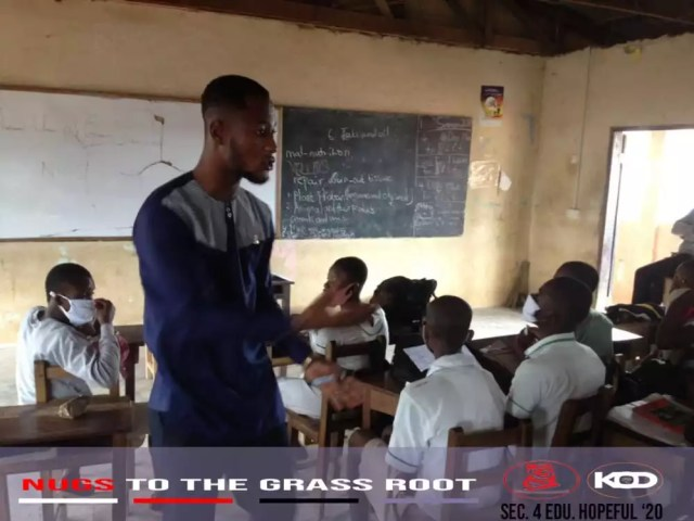 NUGS To The Grassroots: K.O.D Educates Community Schools In Ashanti Region