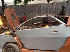 Kantanka Automobile offers to mentor JHS graduate who assembled his own car