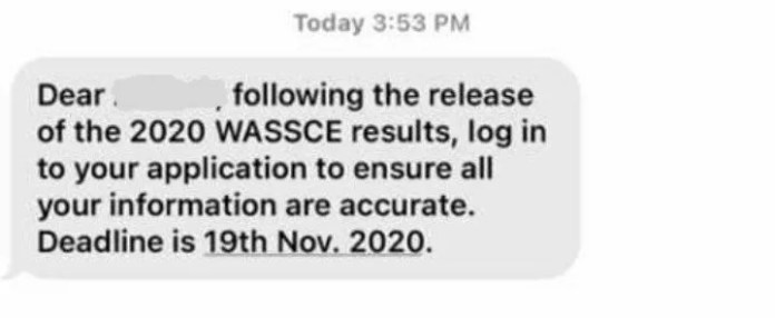 UG: What To Do Before 19th November As An Applicant For 2020/2021 Academic Year