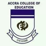 Accra College of Education Admission Requirements