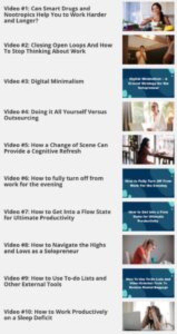 videos modules