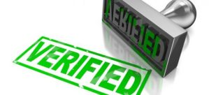 Верификация счета в БК