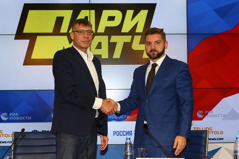 Париматч - титульный партнер федерации волейбола РФ
