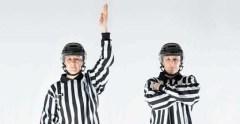 Проброс шайбы в хоккее. Что это?
