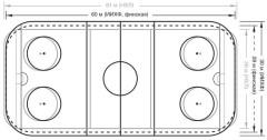 Хоккейная площадка. Какой размер поля?