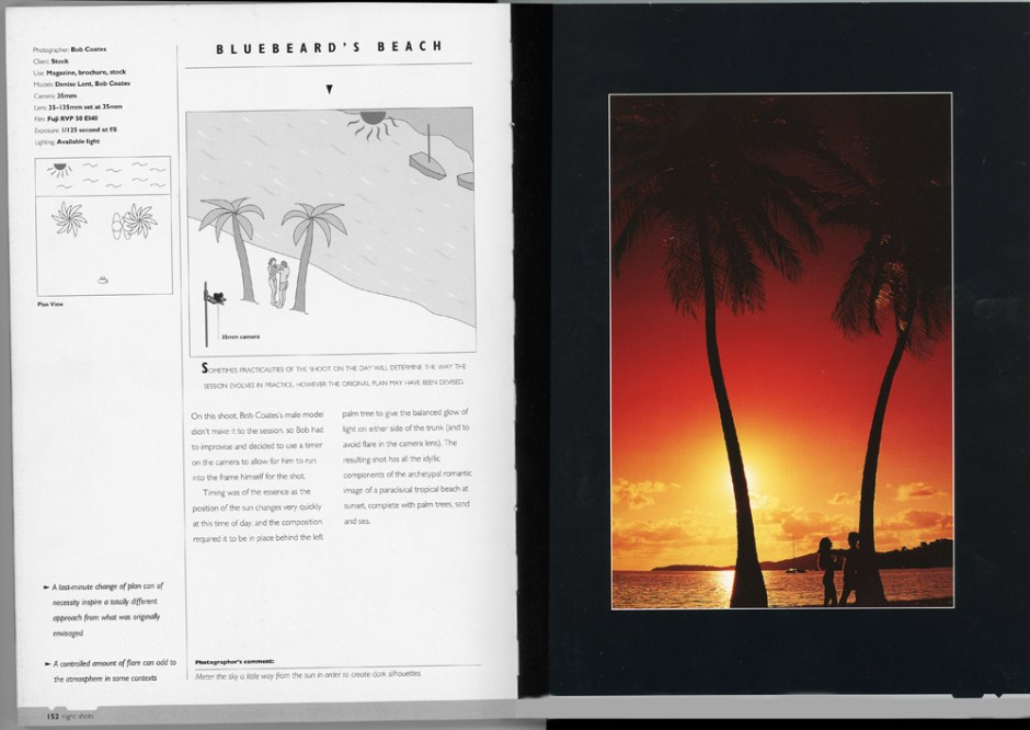 article from Night Shots book by Bob Coates